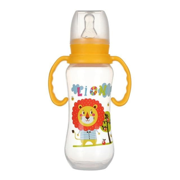 Believe In Yourself Bottle - 240ml YellowxHandle - abdl,adult baby,adult bottle,baby bottles,baby bunny