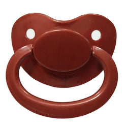 brown adult pacifier paci binkie soother mouth guard nipple autism autistic little space ddlg cgl abdl cglre age regression agere