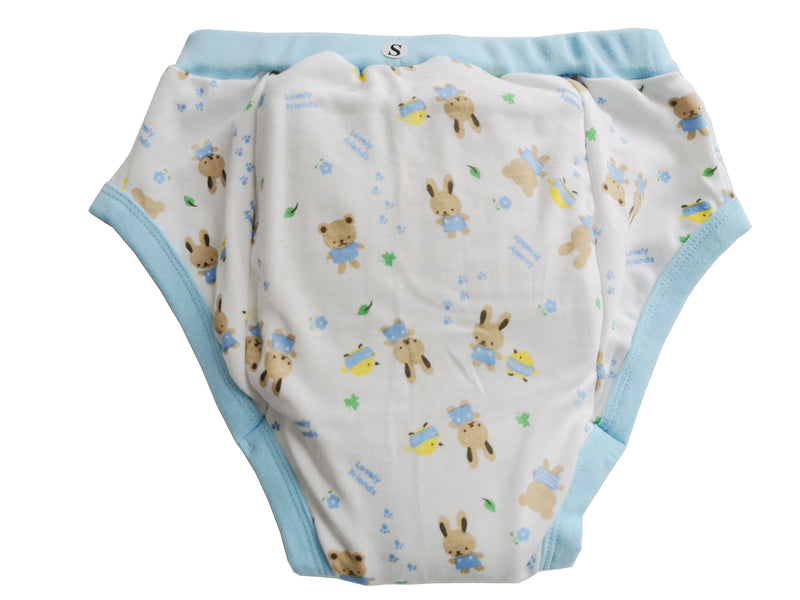 Bunny Friend Training Pants - bunnies, bunny, cloth diaper, diapers