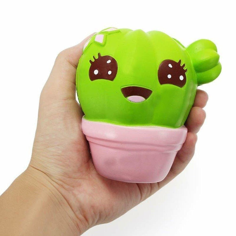 Cactus plant cacti kawaii face squeeze toy stress ball stress relief autism stim stimming abdl kawaii by ddlg playground