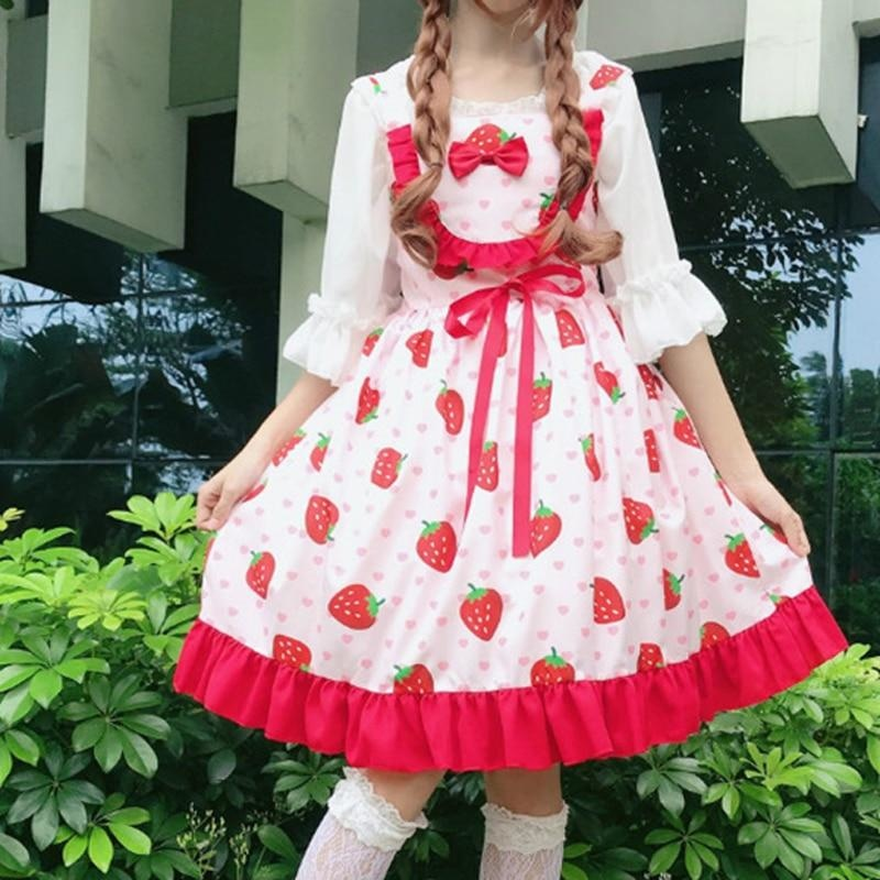 Cherry Sweetheart Dress - dress