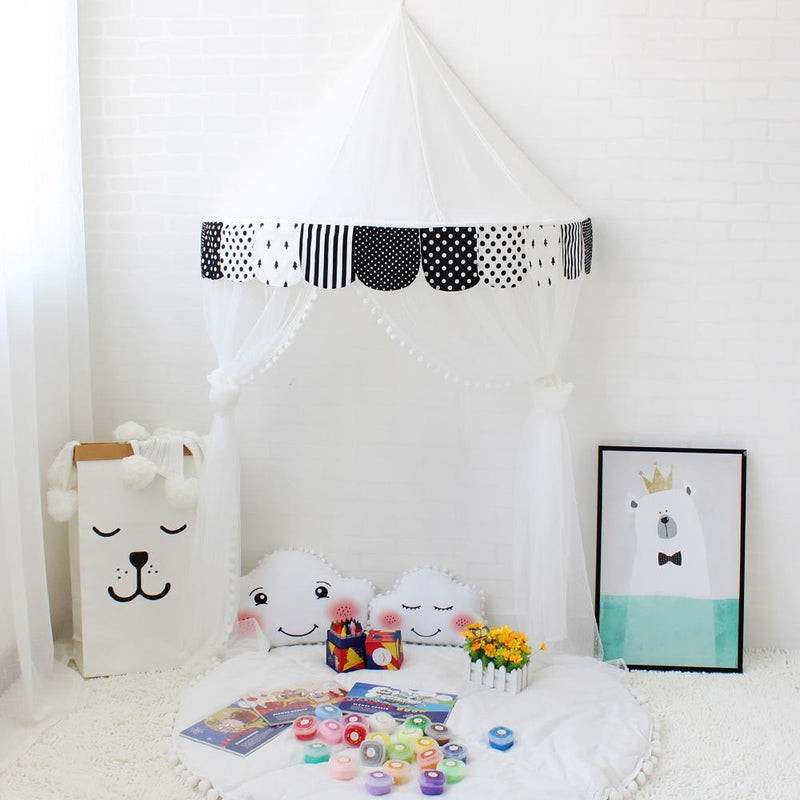 Princess Play Tent Playpen Canopy ABDL Age Play Nursery Bedroom Decor by DDLG Playground