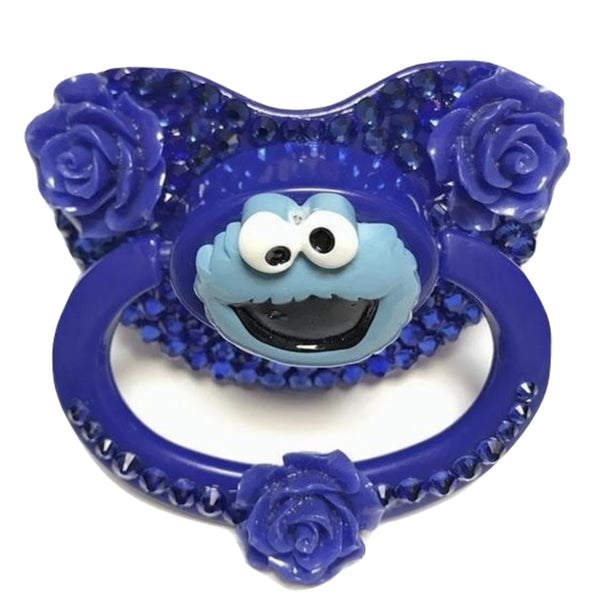 Cookie Monster Deco Pacifier - diaper