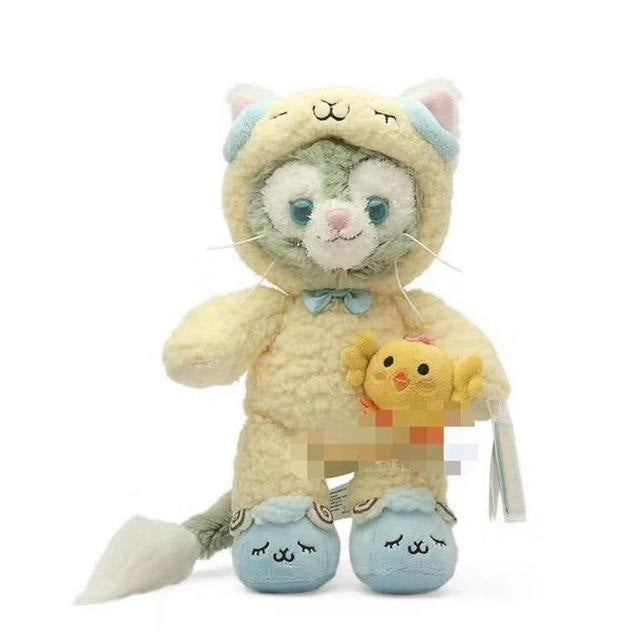 Costumed Bunny Plushies - Gelatoni Cat in Yellow Costume - stuffed animal