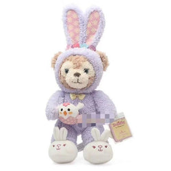 Costumed Bunny Plushies - Shelliemay in Purple Costume - stuffed animal