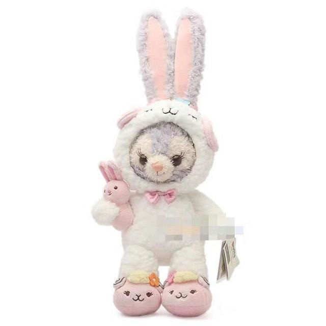 Costumed Bunny Plushies - Stellalou Bunny in White Costume - stuffed animal