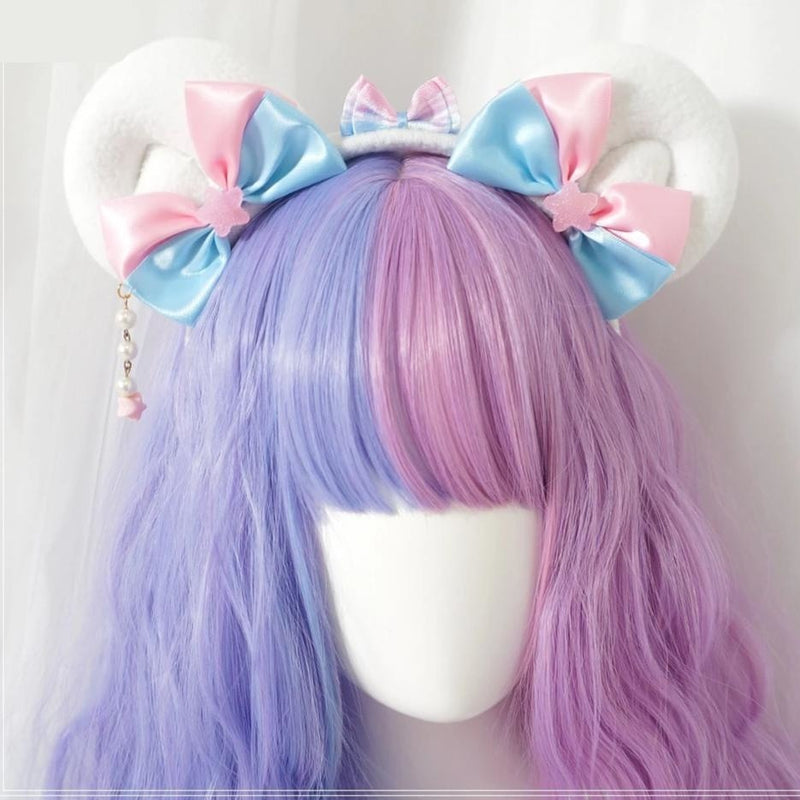 Cotton Candy Ears - Bear Ears - headband