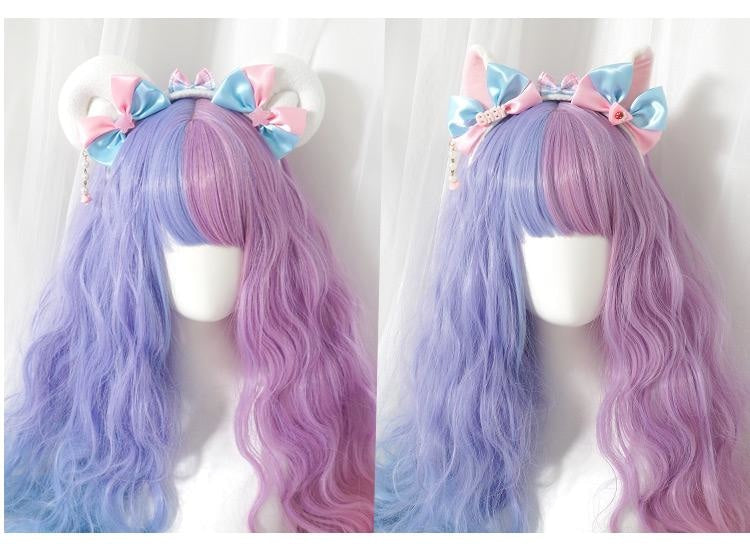 Cotton Candy Ears - headband