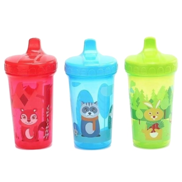 Little Forest Critter Sippy Cup Juice Water Bottle Drinking Glass ABDL CGL Kink Age Play Adult Baby by DDLG Playground