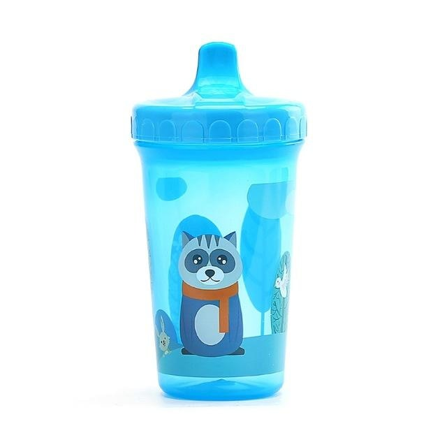 Blue Raccoon Sippy Cup Juice Water Bottle Drinking Glass ABDL CGL Kink Age Play Adult Baby by DDLG Playground