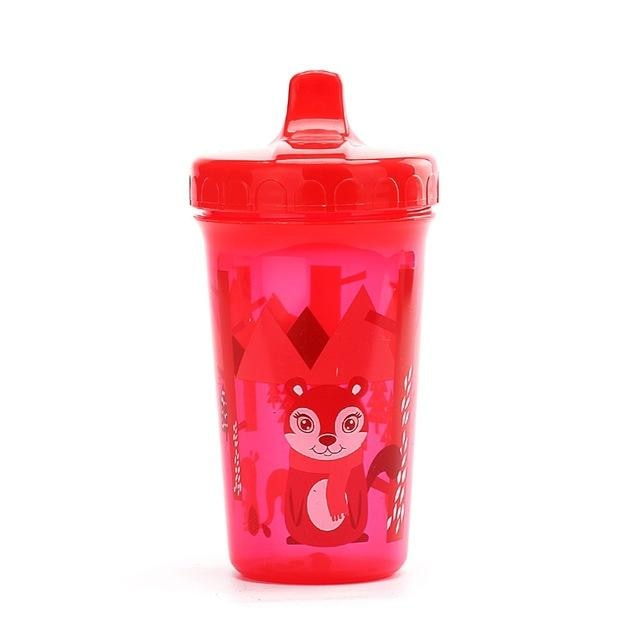 Little Forest Red Fox Sippy Cup Juice Water Bottle Drinking Glass ABDL CGL Kink Age Play Adult Baby by DDLG Playground