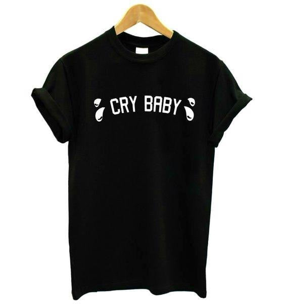 kawaii cry baby tears t-shirt short sleeves shirt tee top little space fashion cute aesthetic abdl cgl by ddlg playground