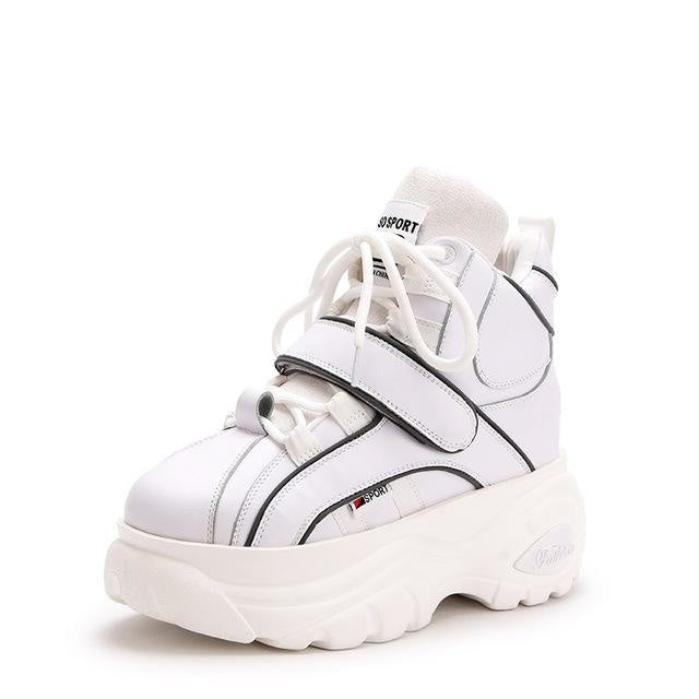 Cyber Babydoll Sneakers - White / 5 - shoes