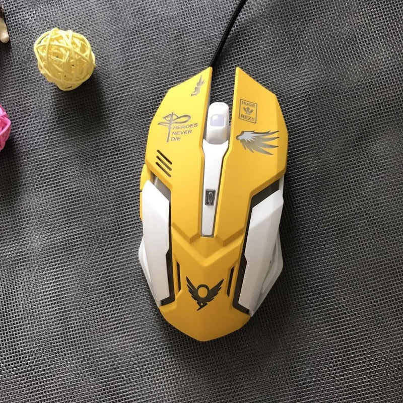 D.Va Backlit Computer Mouse - computer accessories