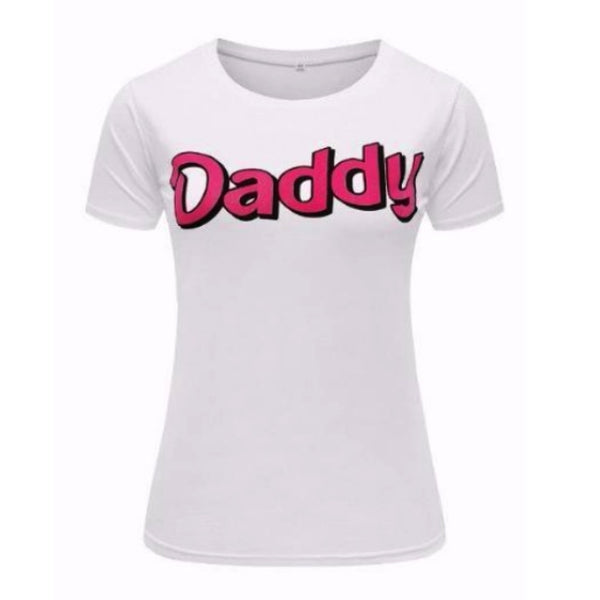 Daddy Short Sleeve T-Shirt Tee Top Shirt Kink Fetish ABDL DD/LG DDLB CGL by DDLG Playground