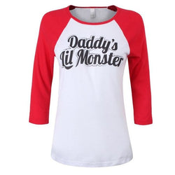 Daddys Monster Shirt - 3/4th Length Sleeve / L - shirt