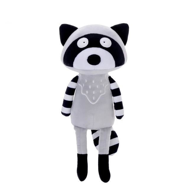 Fox & Coon Plushies - Black Raccoon - plush