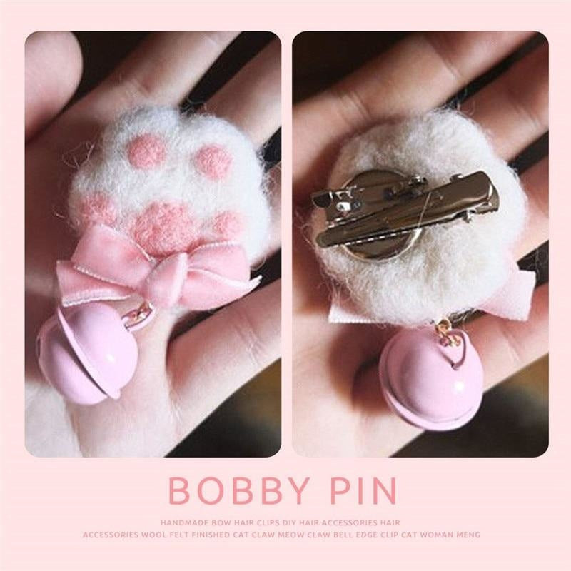 Furry Paw Pins - jewelry