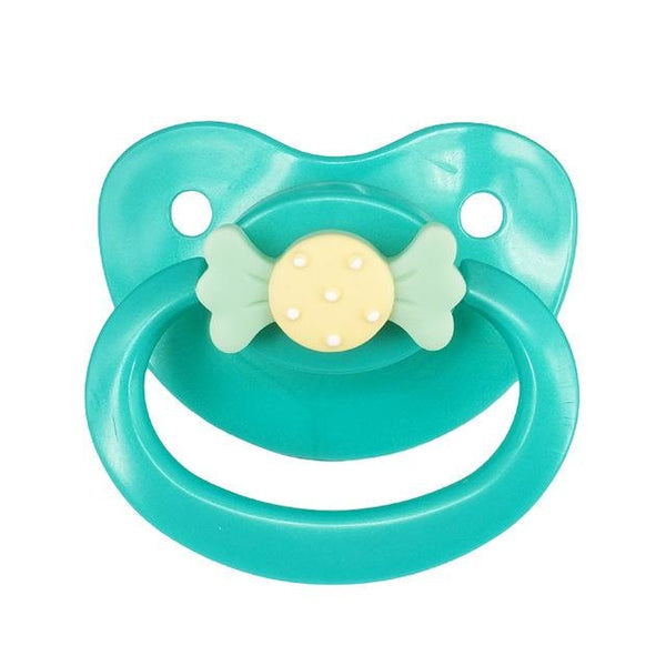 Teal Green Candy Adult Pacifier ABDL AGe Play Binkie Soother Candy Cabochon Kink Fetish DD/LG CGL MD/LG by DDLG Playrgound