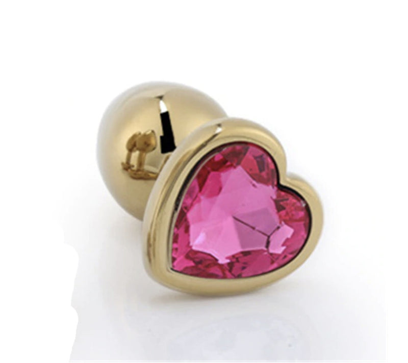Golden Heart Plugs - Rose Red - plugs