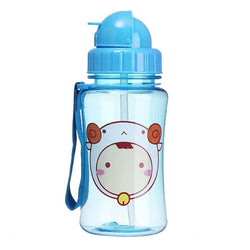 Happy Monkey Bottle - Blue - ab dl, abdl, adult baby, bottle, animal
