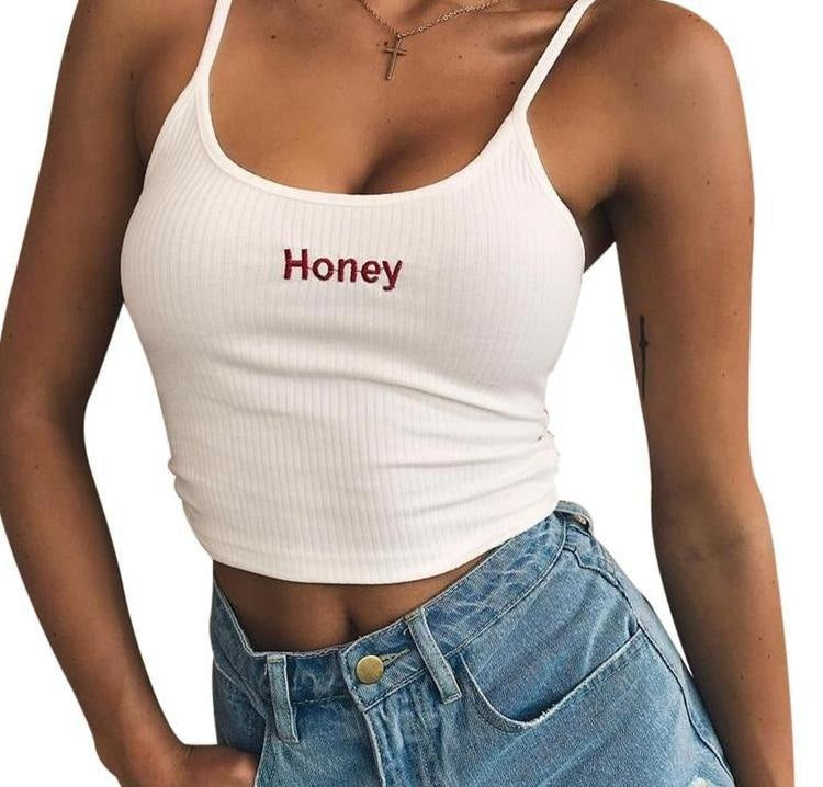 Honey Crop Top - shirt