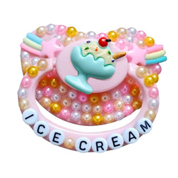 Icecream Deco Pacifier - Sundae - abdl, adult baby, ageplay, binkies