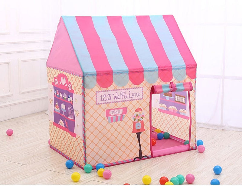 Pink Icecream Shop Play Tent Playpen Camping ABDL | DDLG