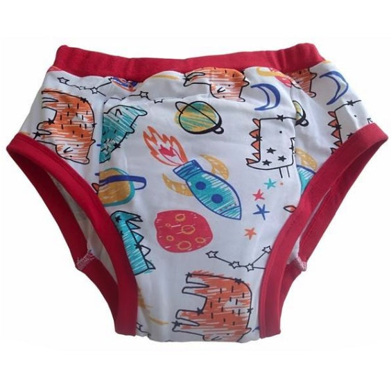 Intergalactic Outer Space Red Training Pants Adult Diaper Baby Lover ABDL Ageplay by DDLG Playground