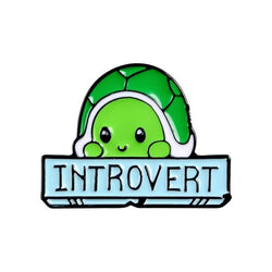 Introverted Turtle Pins - Introverted Turtle - pin