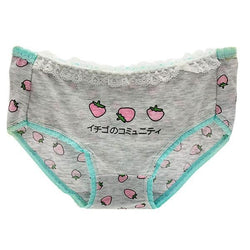 Japanese Strawberry Undies - Underwear