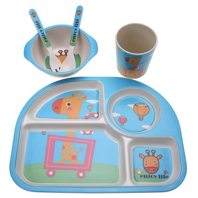 Joyful Giraffe Dinner Set - food