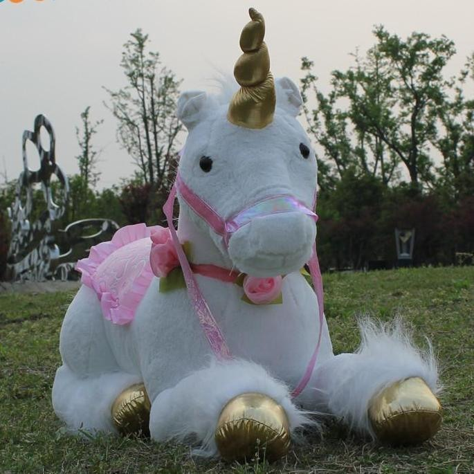 jumbo life size white unicorn stuffed animal plush soft toy riding realistic huge majesty magical unicorn mythological creature bedroom nursery decor abdl cgl little space mdlb dd/lg by ddlg playground