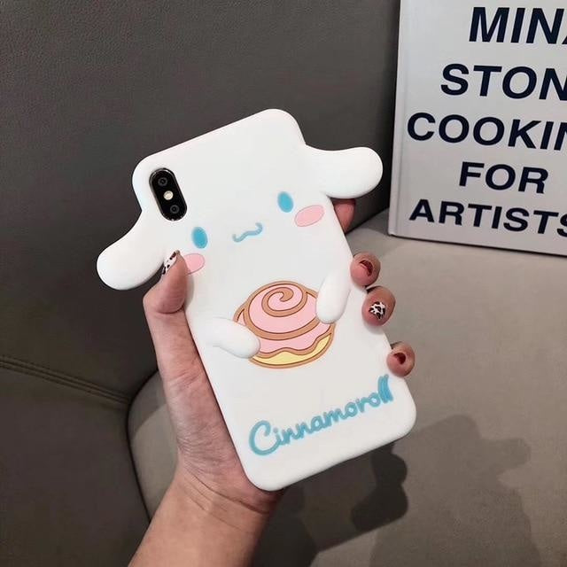 Kawaii Cutie iPhone Cases - for iphone XS MAX / Cinnamoroll - phone case