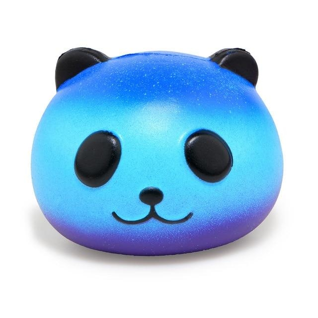 Kawaii Food Squishies - Blue Panda - squishy
