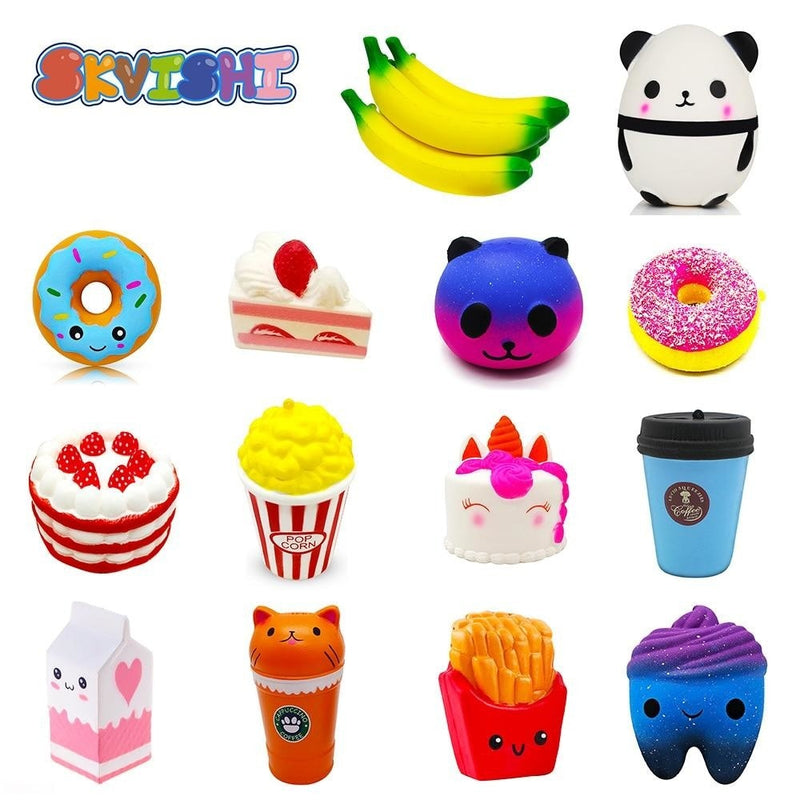 Kawaii Food Squishies - squishy