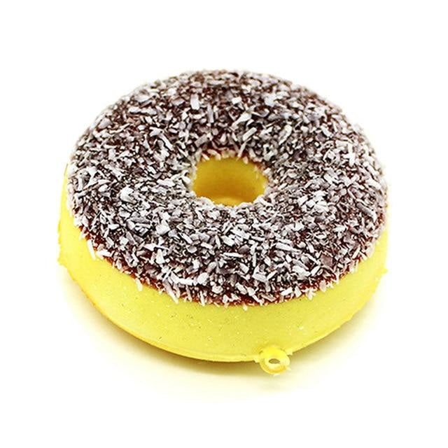 Kawaii Food Squishies - Chocolate Sprinkle Donut - squishy