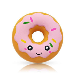 Kawaii Food Squishies - Pink Donut - squishy