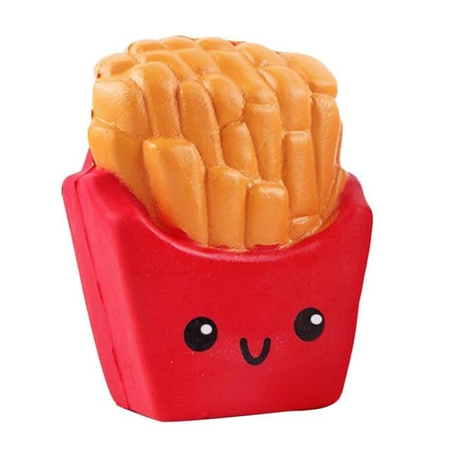 Kawaii Food Squishies - Red French Fries - squishy