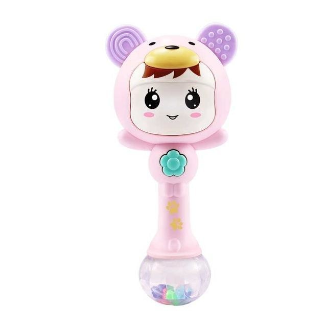adult baby rattle shaker jingle battery operated music soothing sleep light up led glowing abdl dd/lg little space kink fetish cgl mdlb ddlb kawaii girl face by ddlg playground