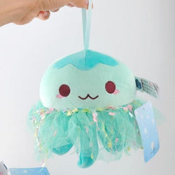 Kawaii Jellyfish Plushies - Teal Green - stuffed animal