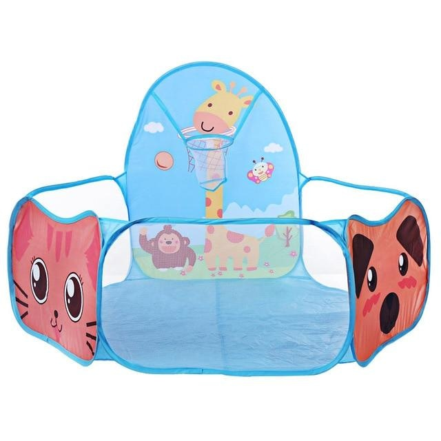 Blue Kitten Kitty Cat Ball Pit Playpen Play Tent Basketball Ageplay ABDL Adult Baby Cgl Kink Fetish Littlespace | DDLG Playground
