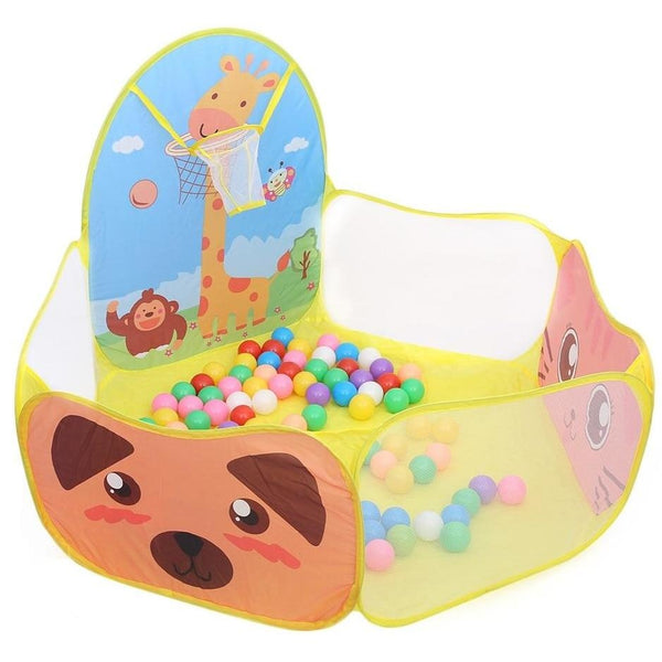 Yellow Kitten Kitty Cat Ball Pit Playpen Play Tent Basketball Ageplay ABDL Adult Baby Cgl Kink Fetish Littlespace | DDLG Playground