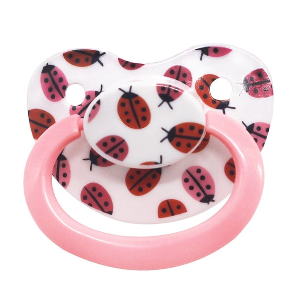 Ladybug Adult Pacifier - pacifier