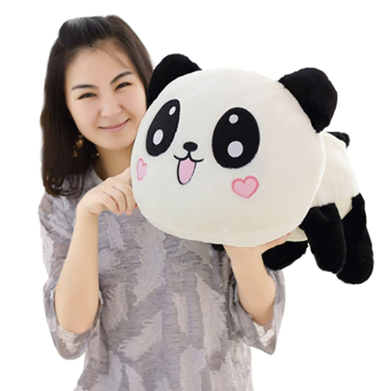 Large Panda Pillow - Plush