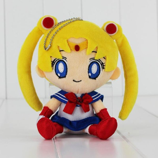 Kawaii Sailor Moon Anime Plush Keychain Toy Stuffed Animal Mahou Shoujo Magical Girl