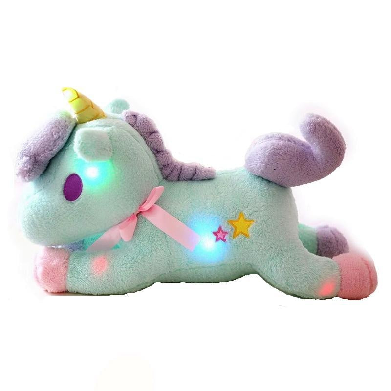 magical unicorn plush toy glow in the dark led little twin stars sanrio pastel fairy kei cgl abdl by ddlg playrgound