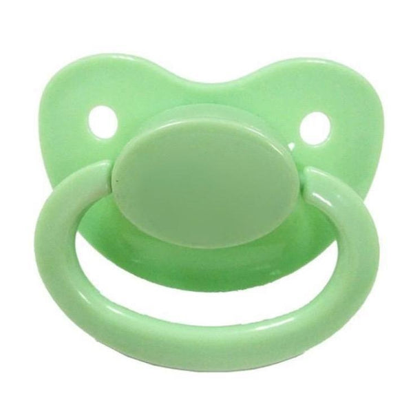 Light Green Adult Pacifier Binkie Soother ABDL CGL Age Play Fetish Kink by DDLG Playground