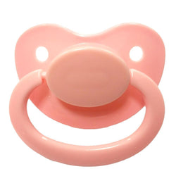 pastel light pink adult pacifier paci binkie soother mouth guard nipple autism autistic little space ddlg cgl abdl cglre age regression agere