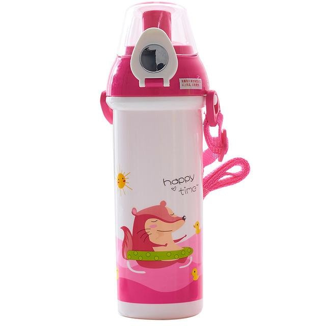 Little Critter Pink Badger Otter Water Bottle Juice Storage Drinking Glass ABDL CGL Age Play Adult Baby by DDLG Playground